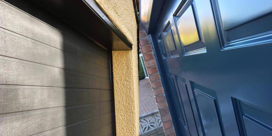 how-to-spray-garage-doors